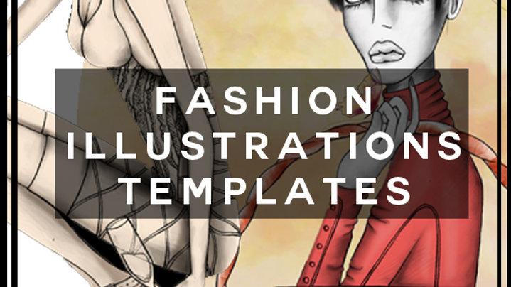 Fashion Illustrations templates