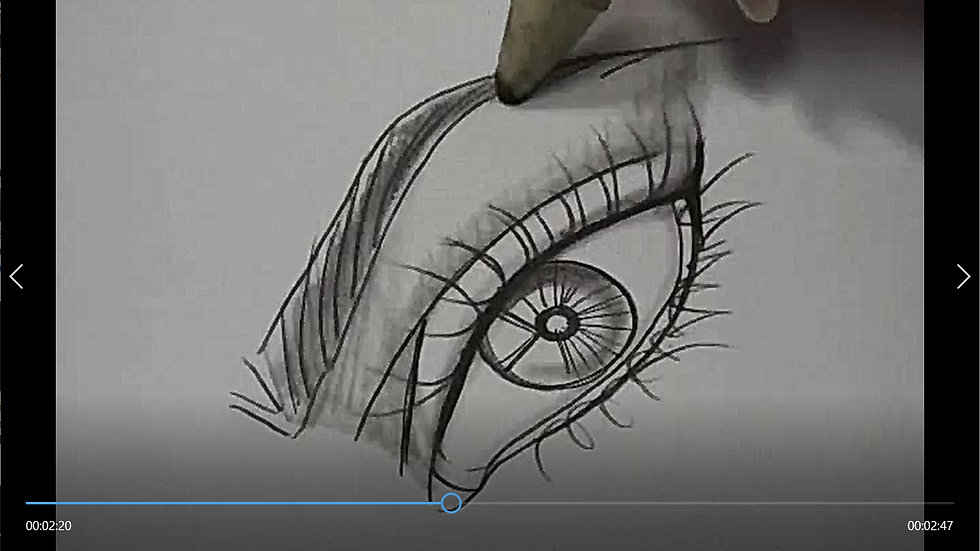 How to Add Shades to the an Eye