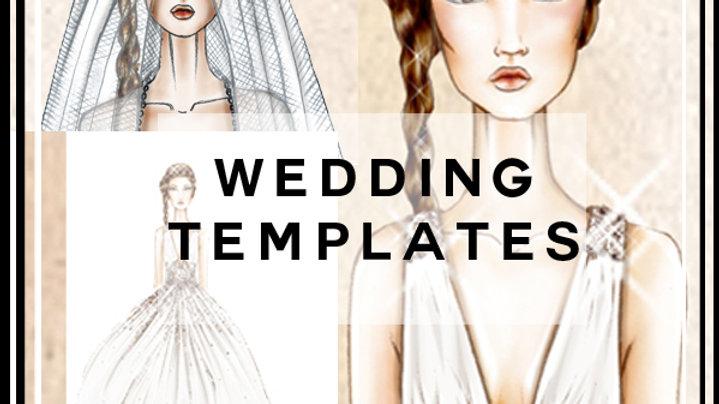 Wedding's wear templates