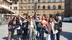 students tour