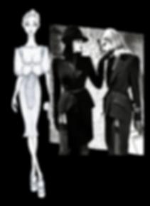 fashion sketches FIGURINI MODA