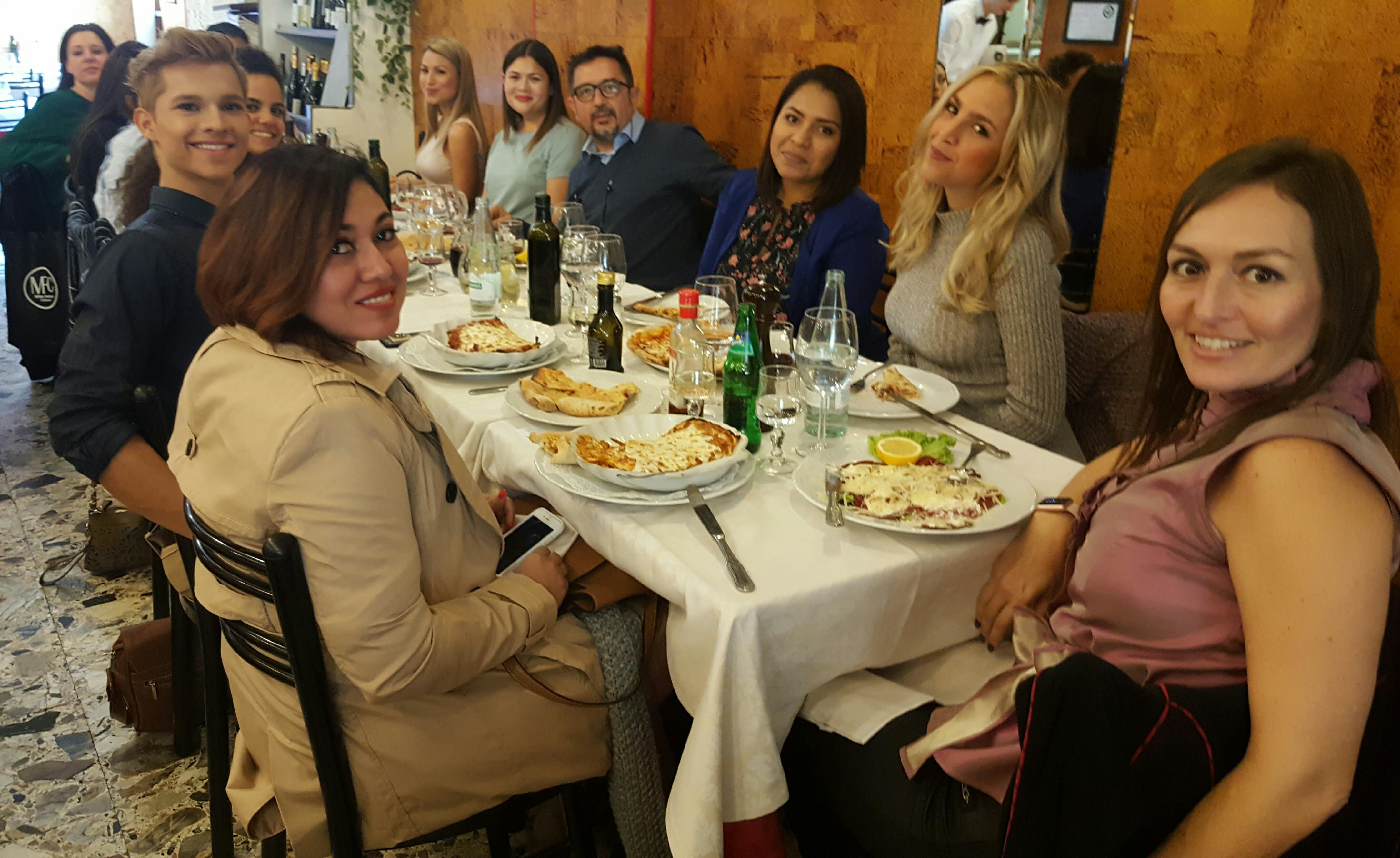 Students Tour in Milan