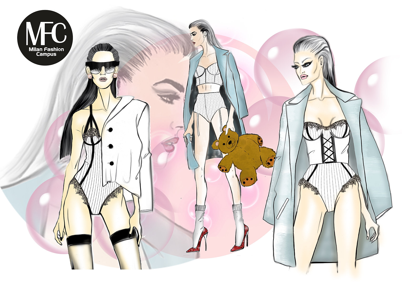 Corsi fashion design intimo e costumi da bagno - Costumi da bagno fashion ...