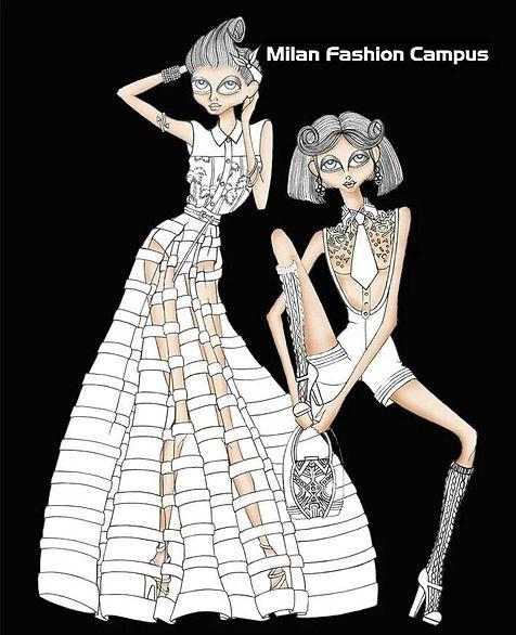 Figurini Illustrazione Moda