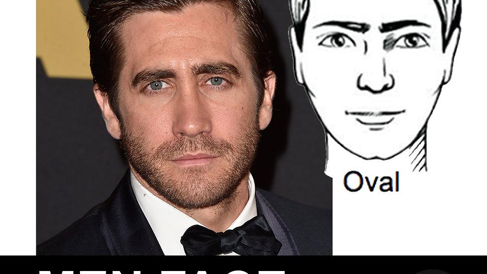 Men Face Shapes