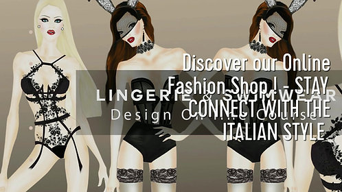 Online Lingerie & Swimwear / Beachwear Design Course