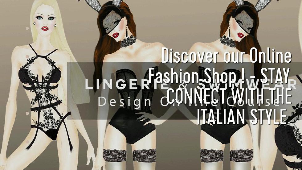 Online Lingerie & Swimwear / Beachwear Design Course