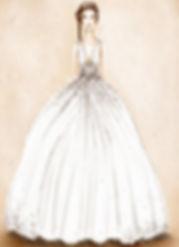 Figurini abiti da sposa