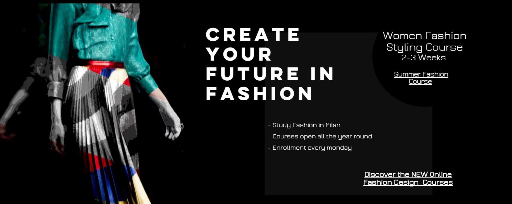 7bafd704d3 Study Fashion in Italy- Milan Fashion School Italian Fashion School