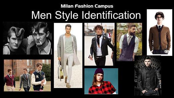 男士时尚造型,造型设计课程,男装周,男士识别造型