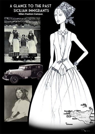 Dolce Gabbana Fashion Drawings Figurines