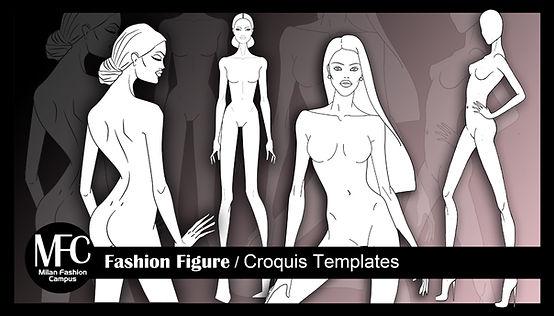 Basi Figurini di moda da stampare