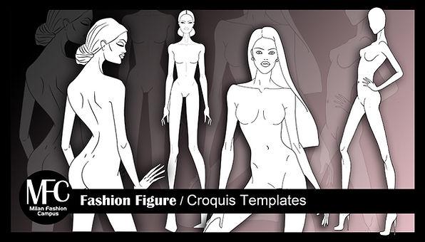 Fashion Figure Templates