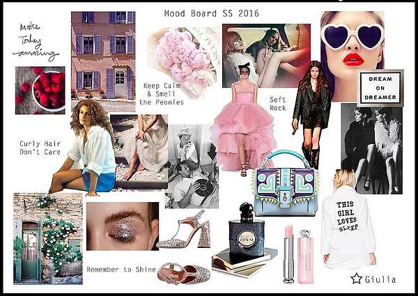 Fashion Styling Moodboard