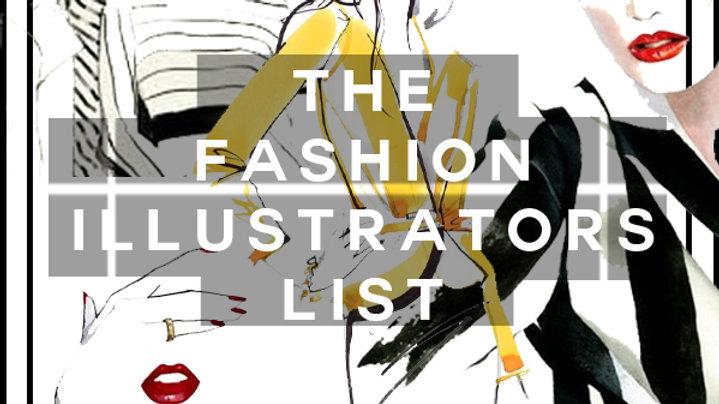 The Fashion Illustrations List