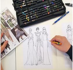 Disegno di moda online