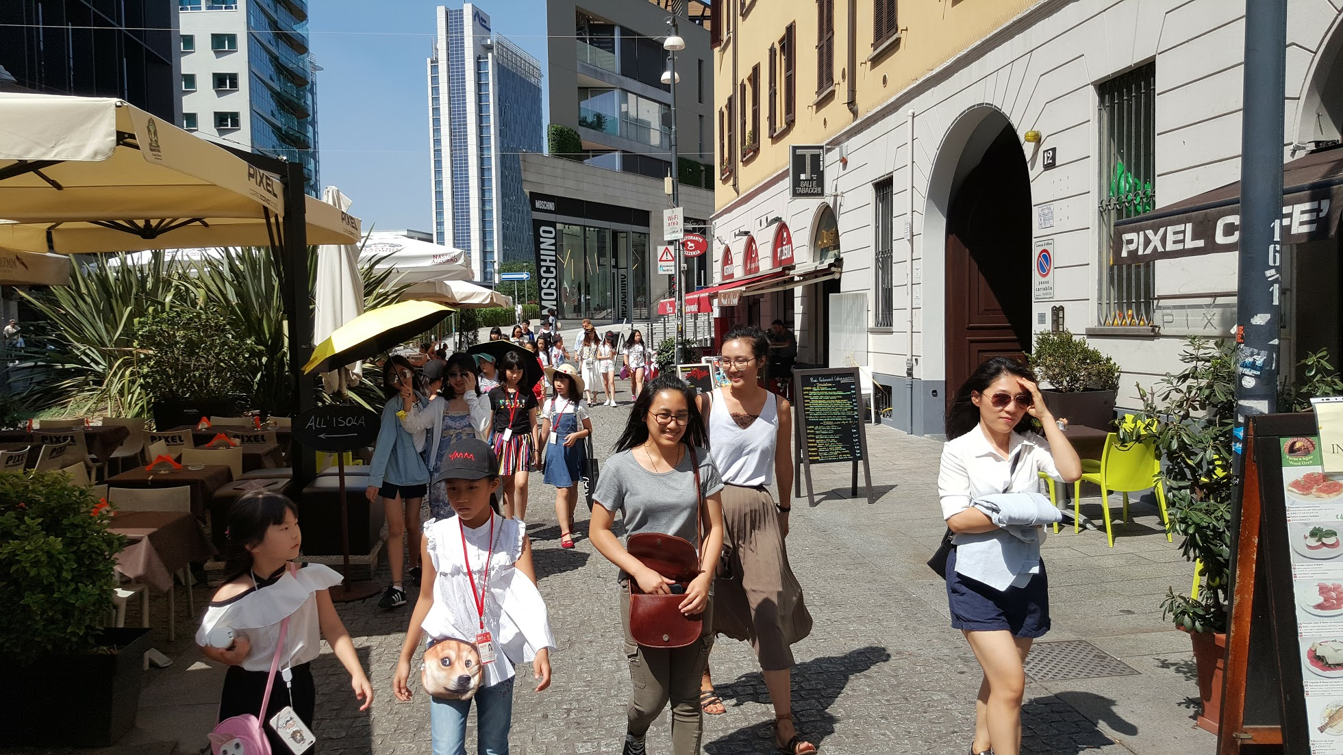 青少年时尚体验米兰意大利