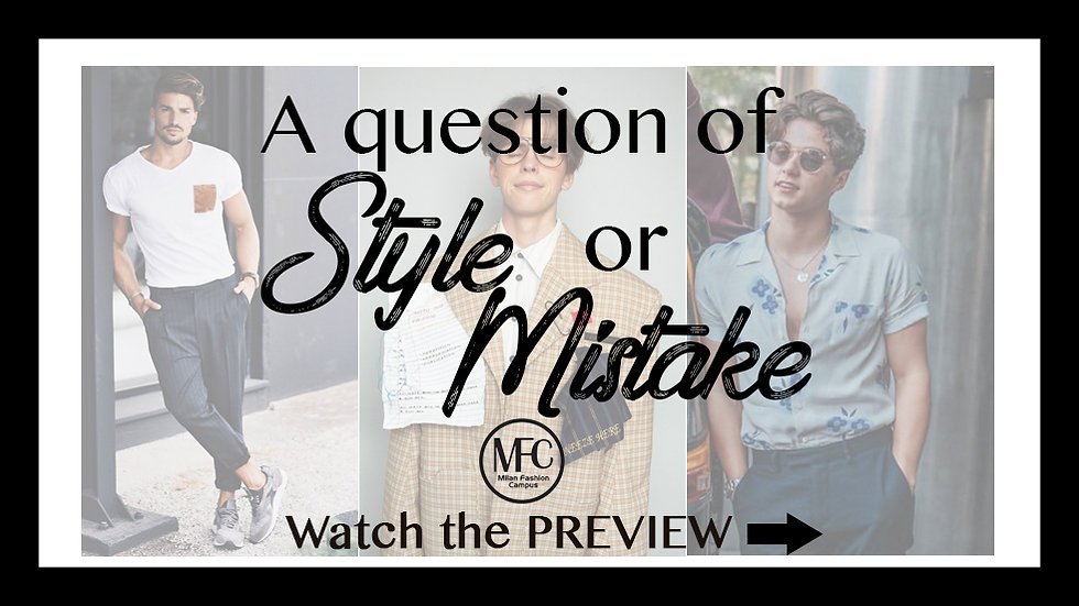 A Question of Style or Mistake
