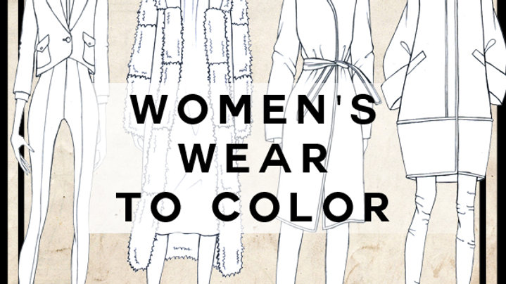 Woman's wear to color