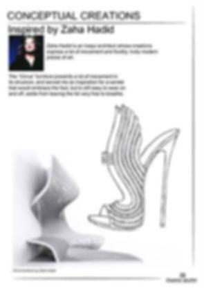 Accessories design  Zaha Hadid