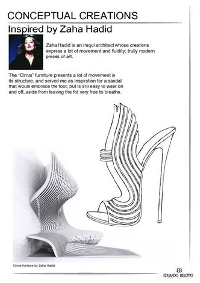 Accessories design  Zaha Hadid