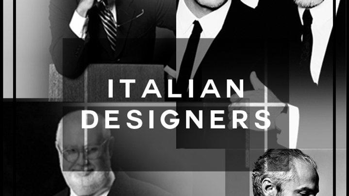 italian designer