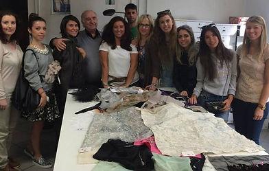 fabric lesson