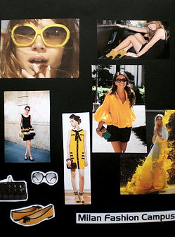 collection design moodboard