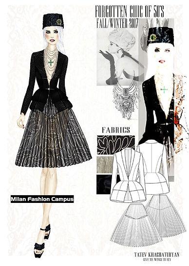 Figurino moda Photoshop Disegno tecnico Illustrator