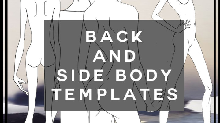 Back and side body templates