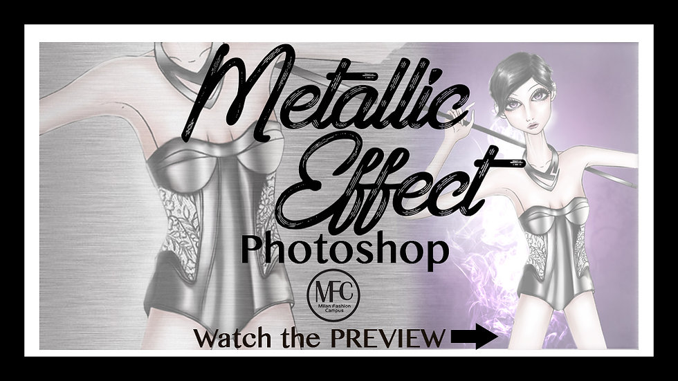Metal Effect with Photoshop