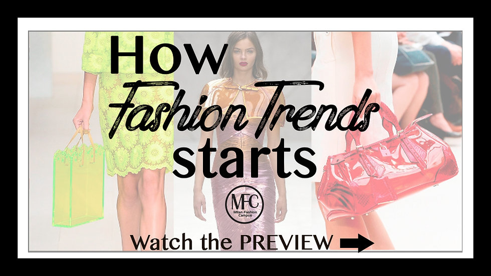 How Fashion Trends Starts