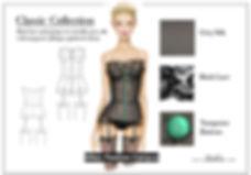 Figurinoi Lingerie Bustier Photoshop