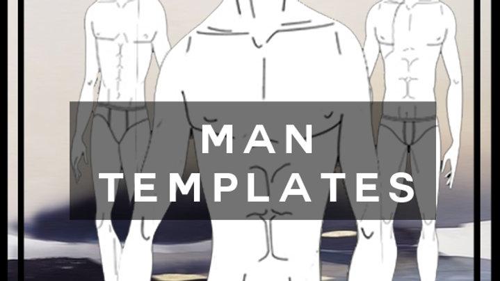 man templates