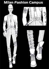 Diseño Moda Hombres
