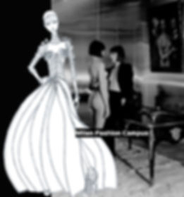 fashion sketches DRAWING