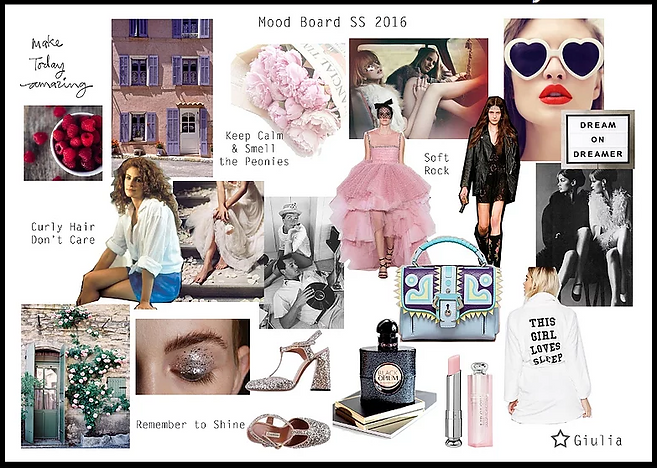 Fashion Moodboard