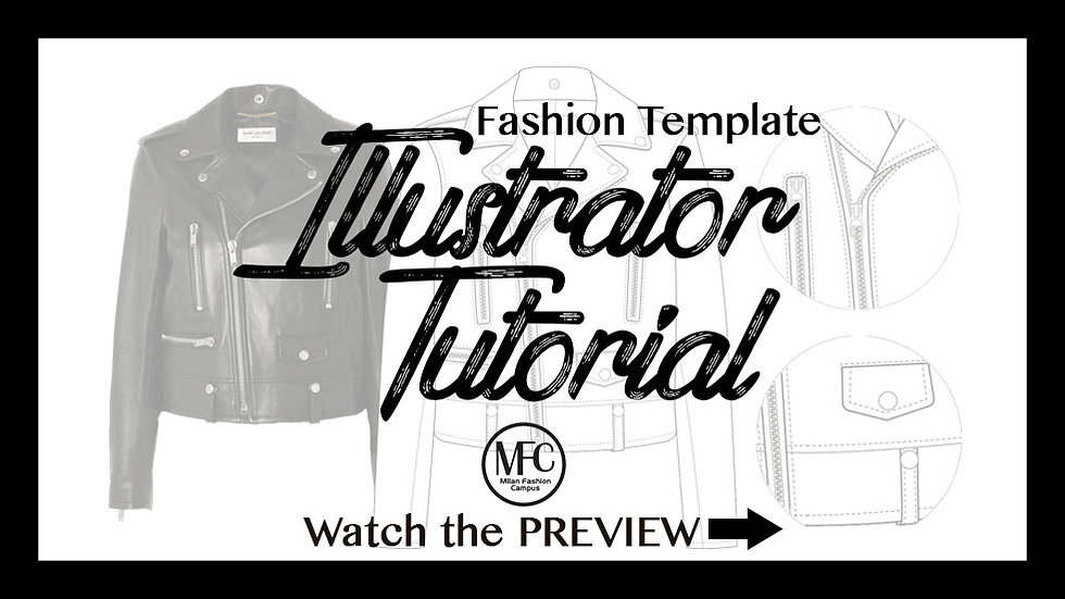 Fashion Illustrator Tutorial