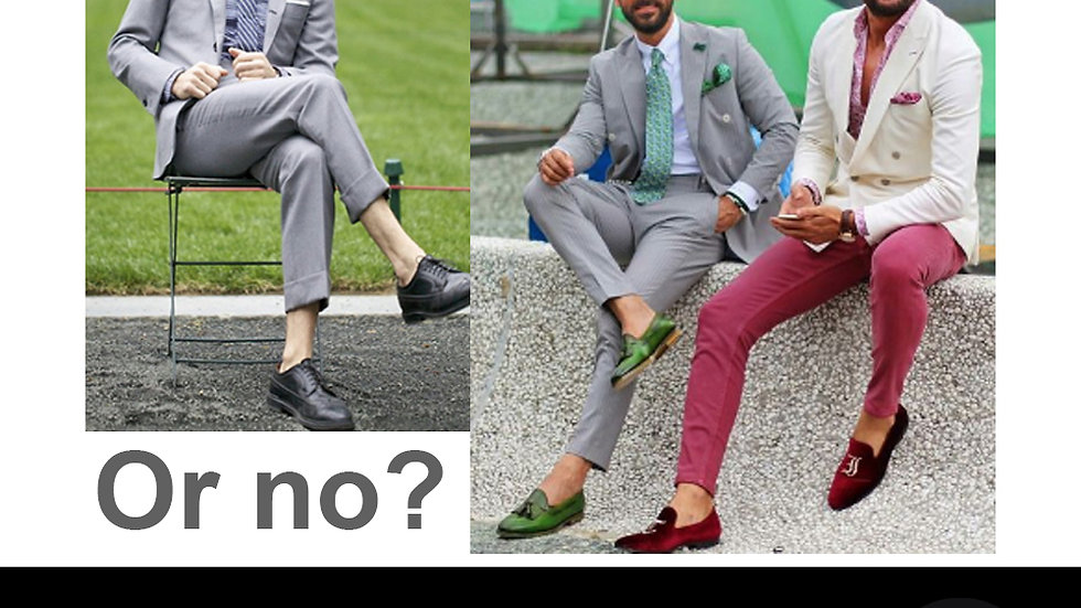 Men Fashion Mistakes