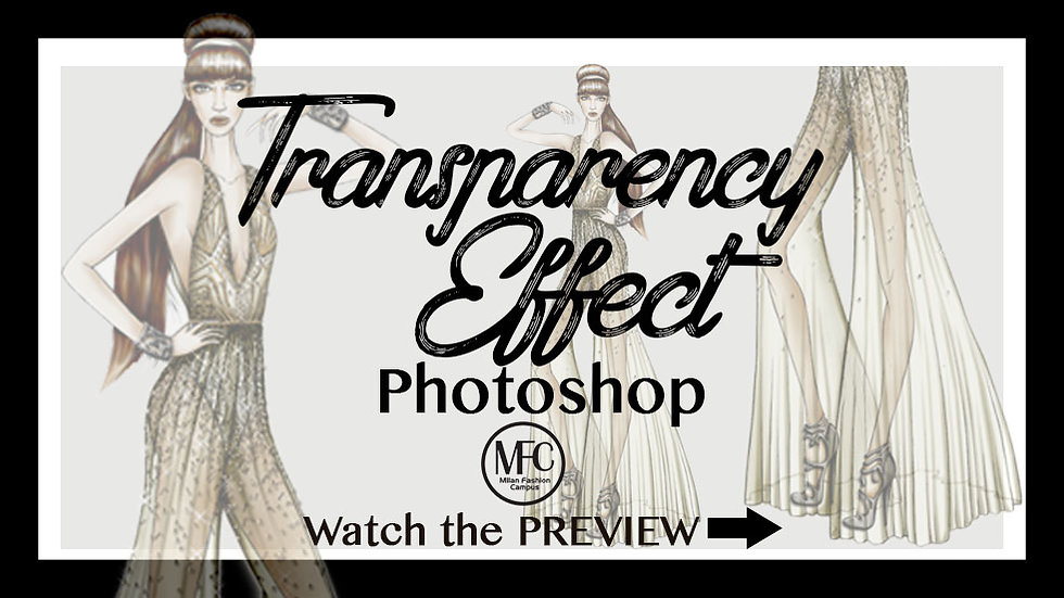 Transparency Effect with Photoshop