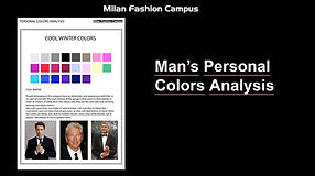 Man's Color Analysis