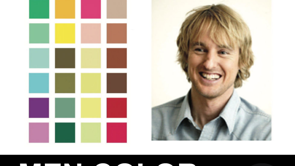 Men Color Analysis