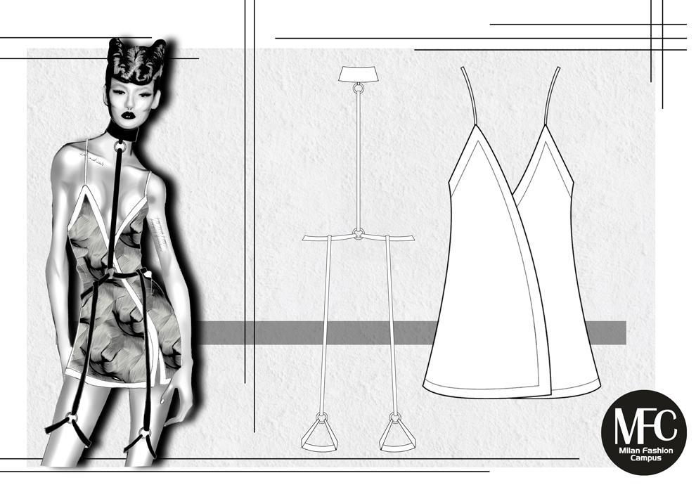 Illustrazione Figurino