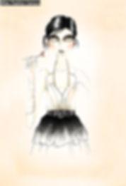 Fashion illustration shushy