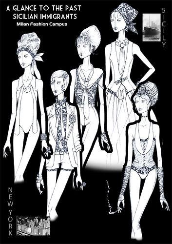 Fashion Sketches Dolce Gabbana