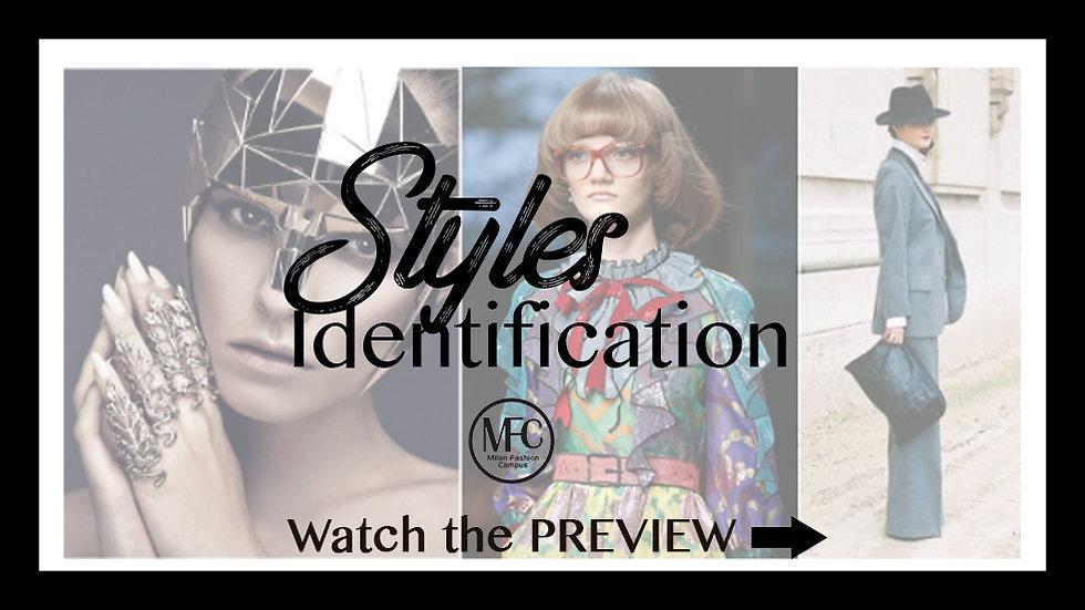 Styles Identification Women ( 1 hour Duration)