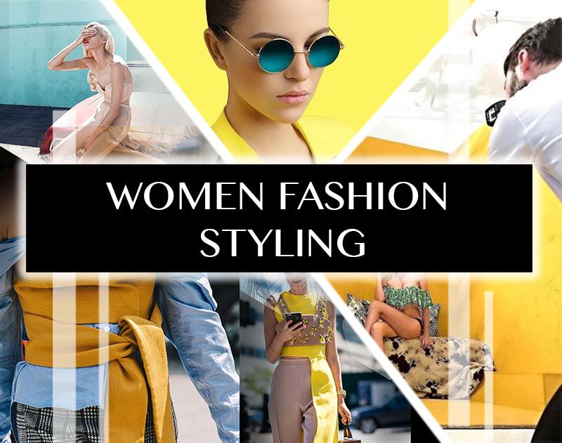 women fashion styling