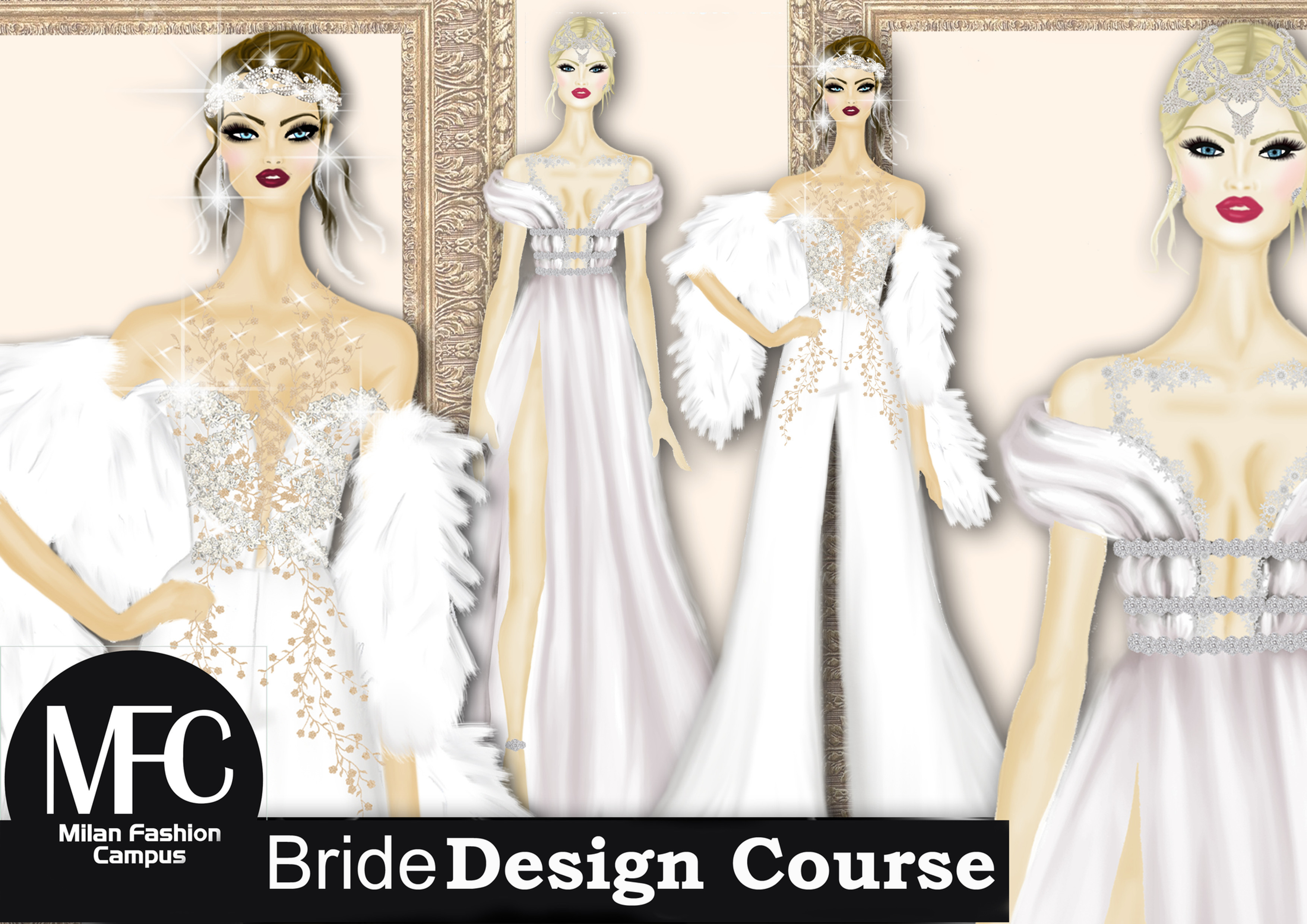 Bridal Wedding Design Course I Italy Milan I Milan Fashion Campus