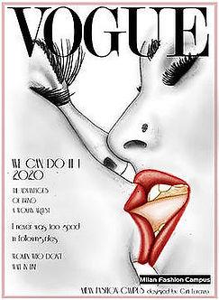 diseño de modas Vogue