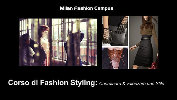 Corso Fashion Stylist